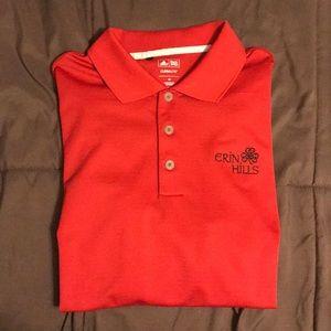 Erin Hills Adidas Climalite Golf Polo